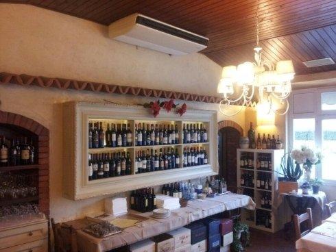 ampia lista dei vini, vini toscani, cucina tipica toscana