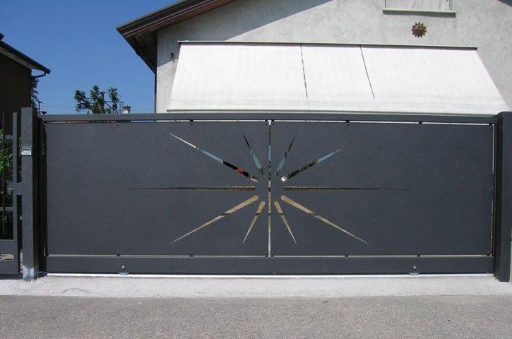 Cancelli in carpenteria metallica