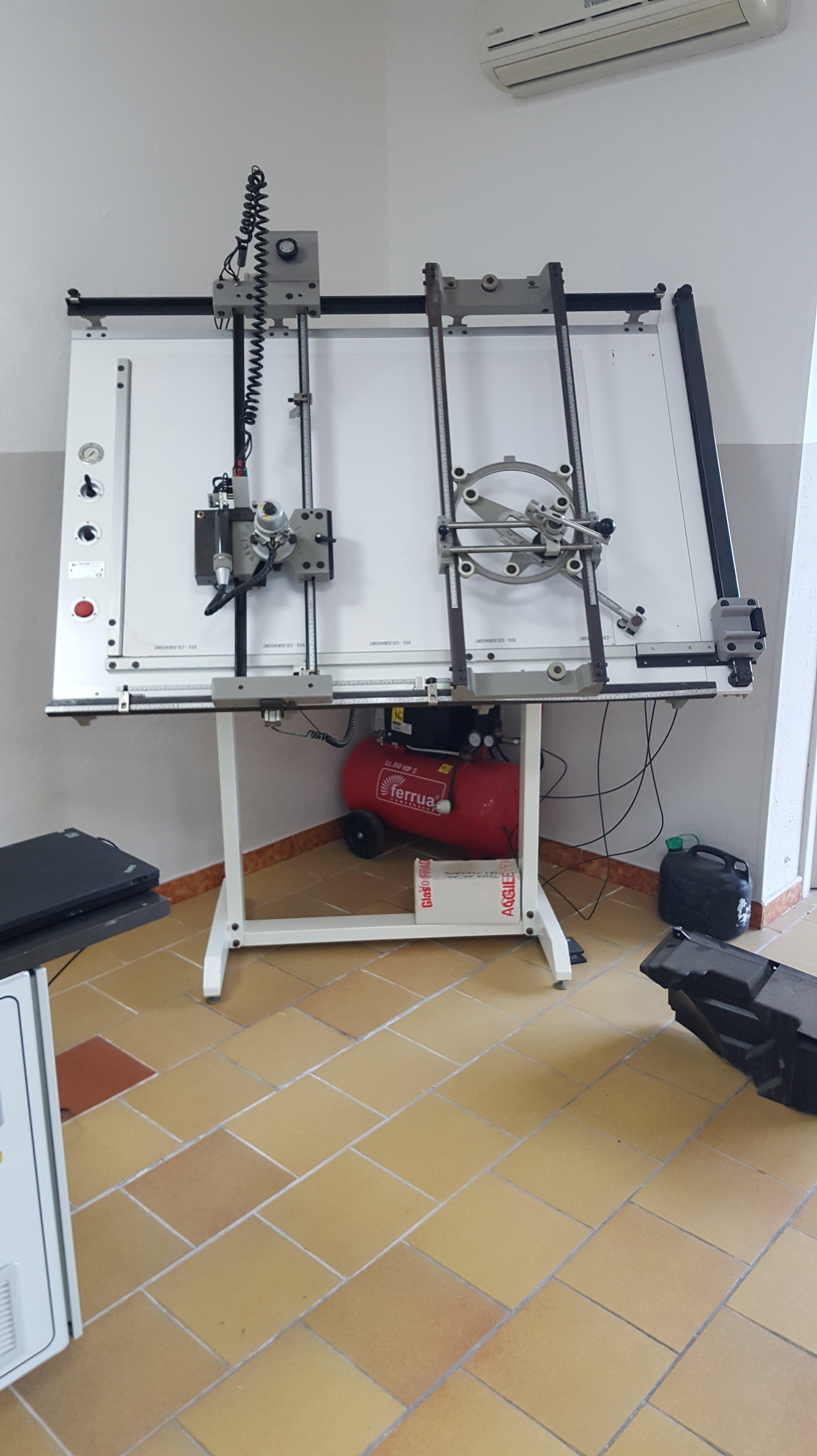 Mcchinario per lavorazione 3D