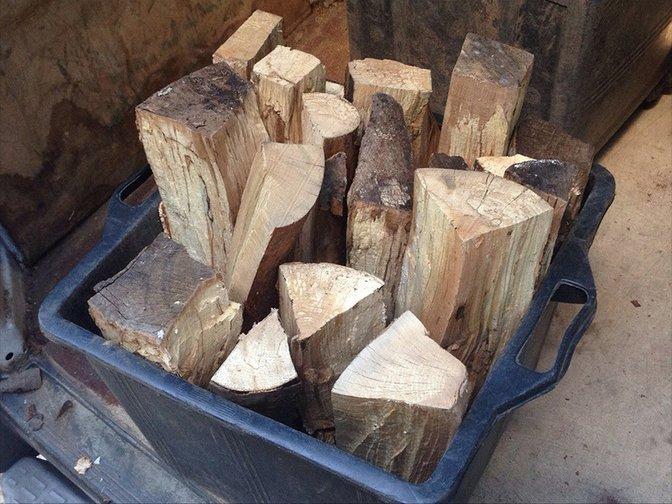 rifiuti di legno