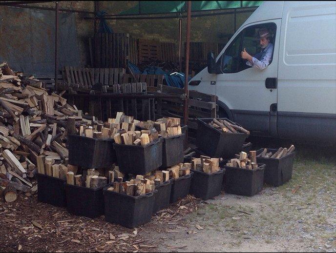 rifiuti di imballaggi di legno