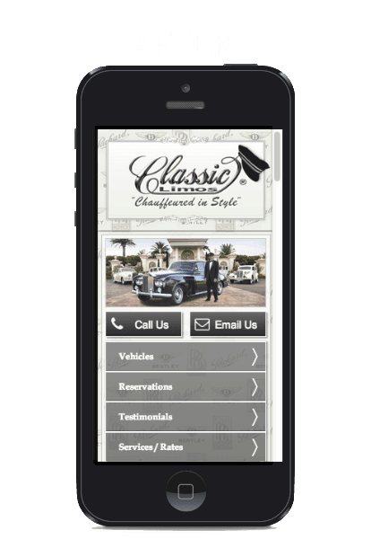 Mobile web - responsive mobile website design