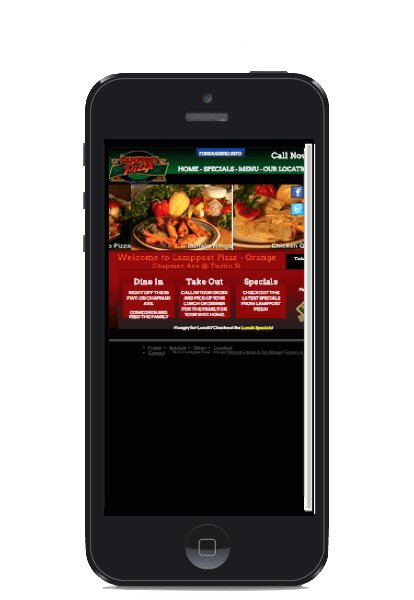 Mobile website design - responsive mobile website design