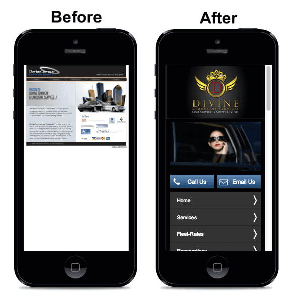 Mobile web design company KCMO