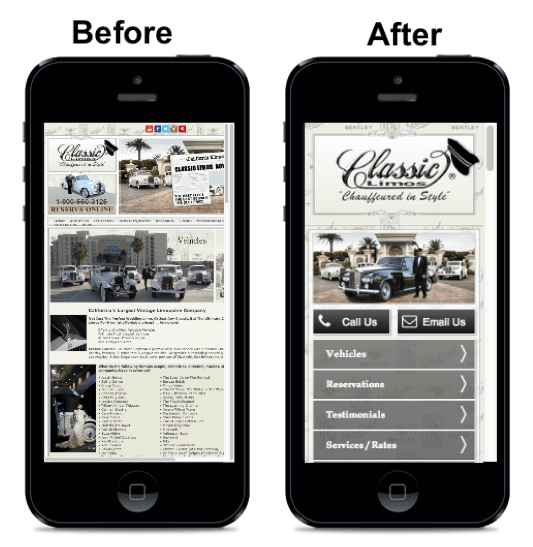 Mobile web design company Beverly Hills