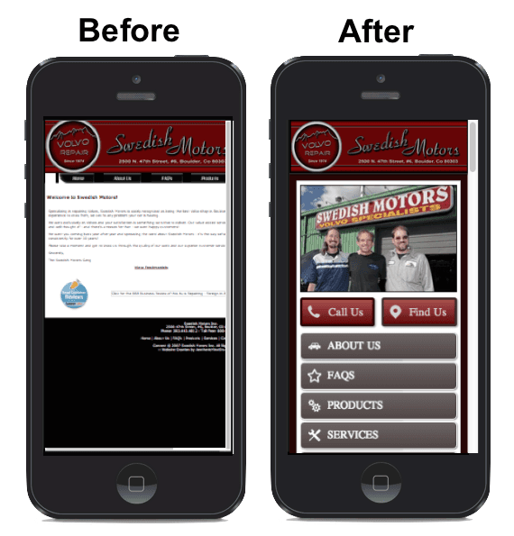 Mobile web design company hollywood