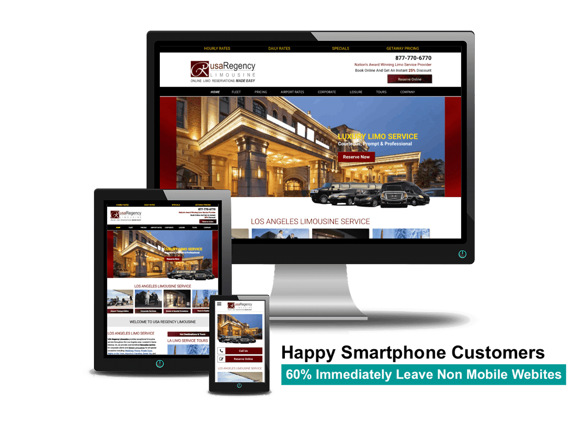 responsive web design los angeles california