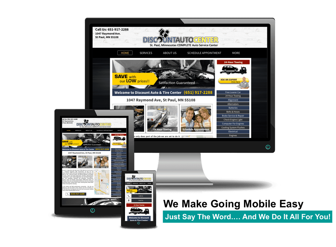 responsive web design hollywood california