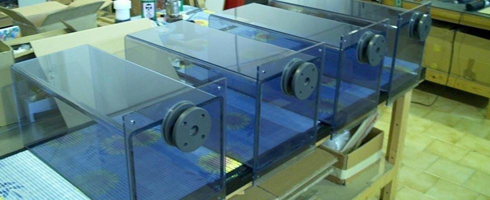 incubatori in plastica
