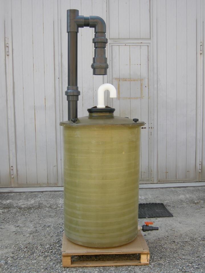 cisterna in plastica