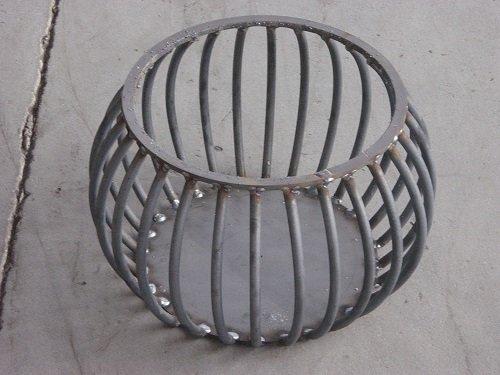 griglia in ferro