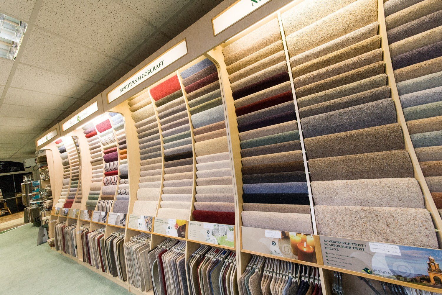 Huge choice of flooring at Northern Floorcraft
