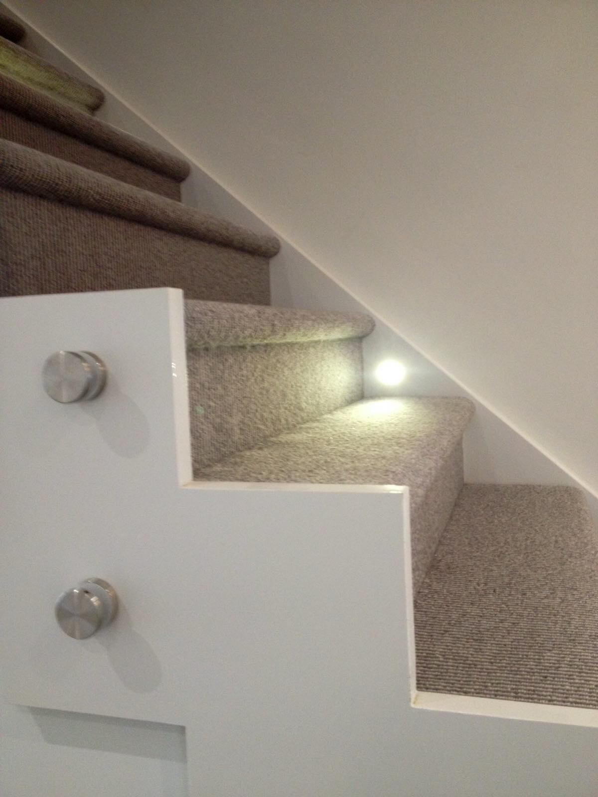 Carpet expertly tucked by Northern Floorcraft