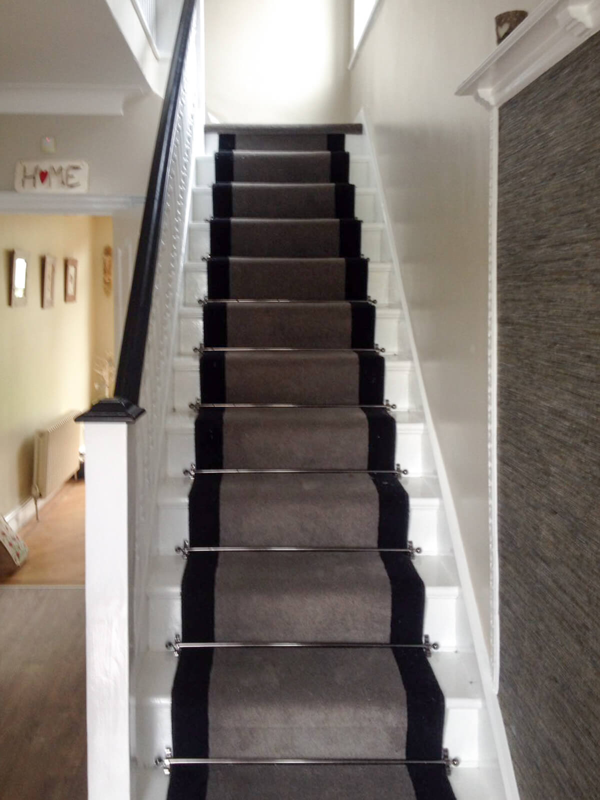 New stair flooring