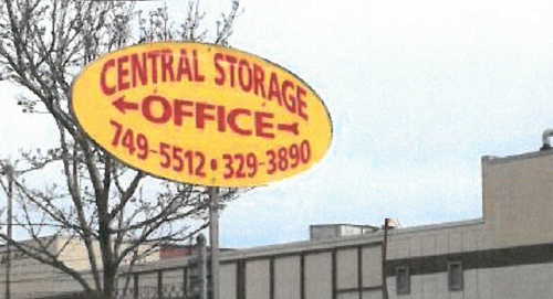 Central storage office for reliable self-storage in Rochester