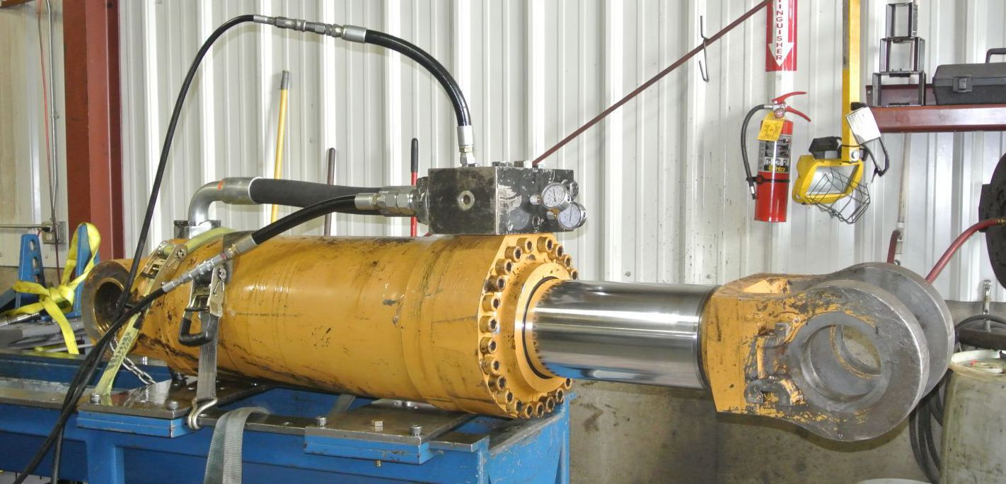 Testing cylinders