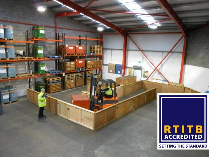 RTITB Accredited - Setting the Standards logo