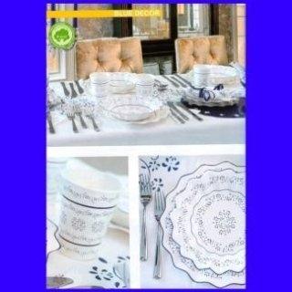 piatti monouso decorati