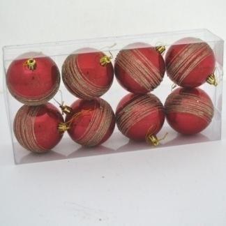 palle di natale decorate