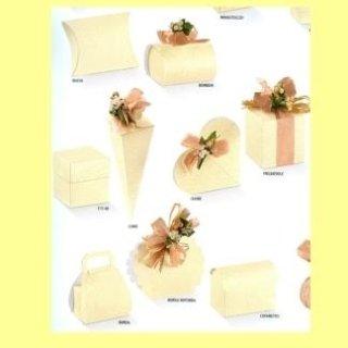 scatole di cartone per confezioni regalo avorio