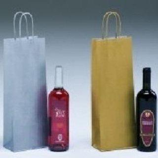 borse di carta per vino
