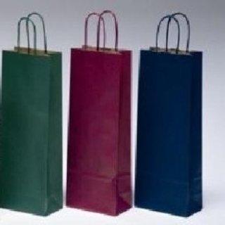 borse di carta portabottiglie