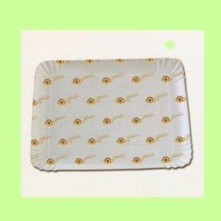 vassoi in cartoncino bianco per pasticceria