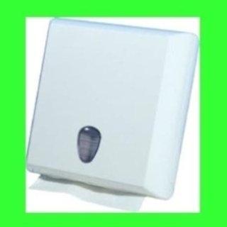 dispenser asciugamani carta bianco