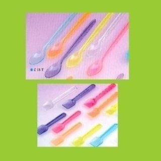 palette gelato e cucchiani granita