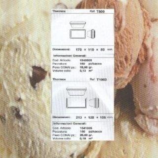 contenitori isotermici per asporto gelato