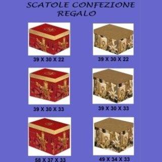 scatole per confezioni regalo