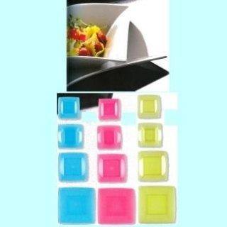 piatti colorati quadrati