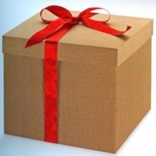scatole di cartone con coperchio per regali
