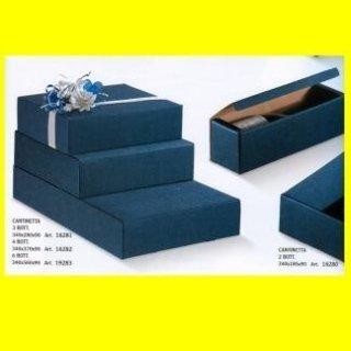 scatole blu