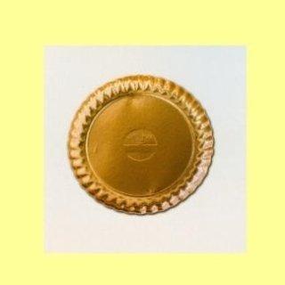 vassoi rotondi alluminati oro