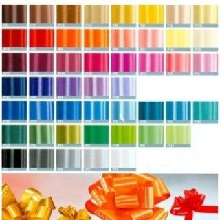 nastri in propilene colorati