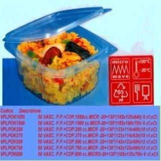 contenitori per alimenti con coperchio