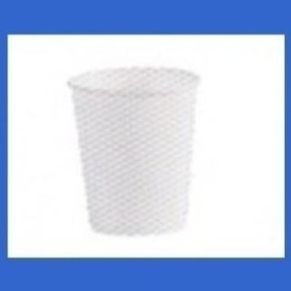 bicchieri di cartoncino bianco