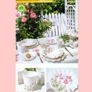 piatti fiori rosa