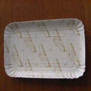 vassoio cartoncino bianco e film ppl