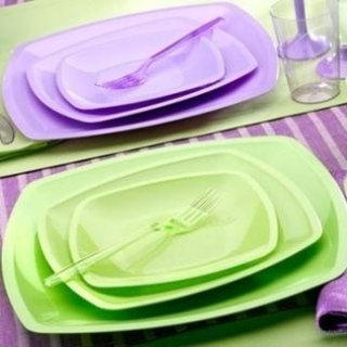 piatti colori pastello