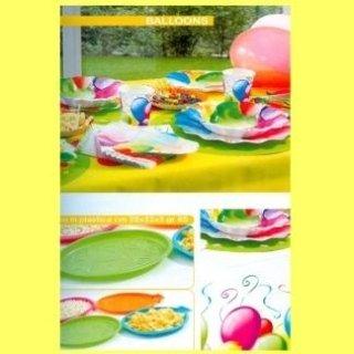 piatti fantasia palloncini