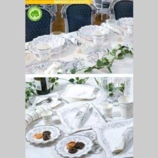 piatti decori argento