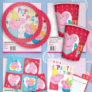piatti di carta Peppa Pig