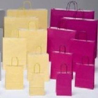 borse di carta fuxia