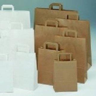 borse di carta bianche
