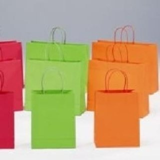 borse di carta vari colori