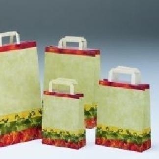 borse di carta con decorazioni