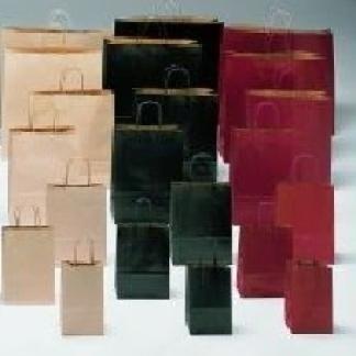 borse di carta tinta unita