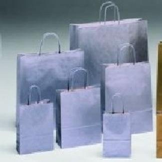 borse di carta argento